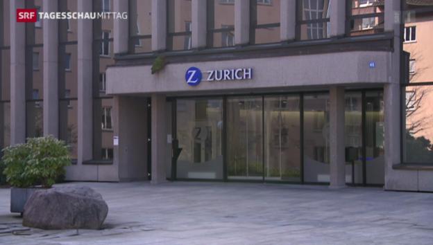 Video «Zurich hält an Sparplan fest» abspielen