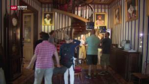 Video «Medientross auf dem Schloss Arenenberg» abspielen