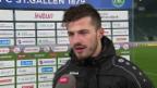 Video «Ein glücklicher Albian Ajeti im Interview» abspielen