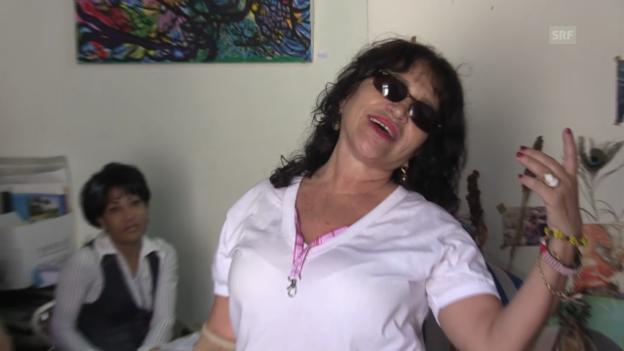 Video «Salsa-Feeling auf Kuba: Zaida tanzt und singt» abspielen