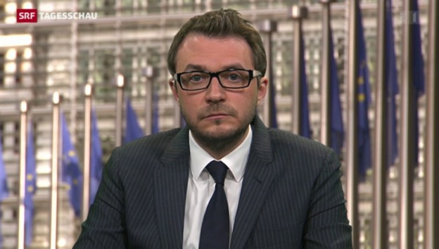 Video «SRF-Korrespondent Sebastian Ramspeck zur EU-Flüchtlingspolitik» abspielen