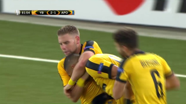 Video «YB - Apoel: Die Live-Highlights» abspielen