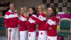 Video «Die Schweizerinnen vor dem Fedcup-Halbfinal» abspielen