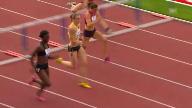 100 m Hürden Frauen (B-Serie)