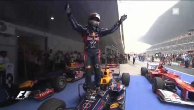 Video «Impressionen aus Vettels Saison 2012» abspielen