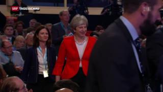 Video «Tories zerstritten wegen Brexit» abspielen