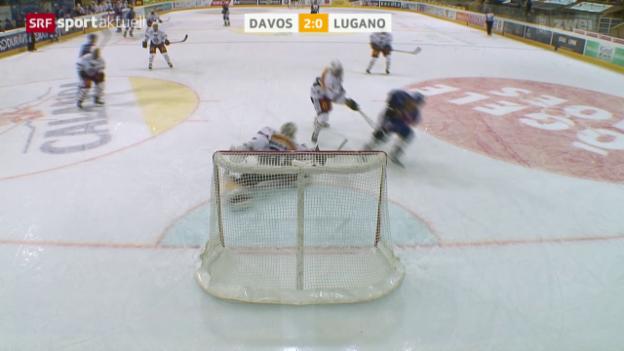 Video «Eishockey: NLA, 15. Runde, Davos - Lugano» abspielen
