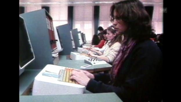 Video ««Orwells Einfluss auf den Film» aus: Schauplatz vom 12.1.1984» abspielen