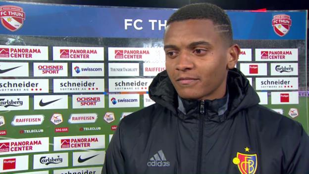 Video «FCB-Rückkehrer Manuel Akanji: «Wir haben immer daran geglaubt»» abspielen