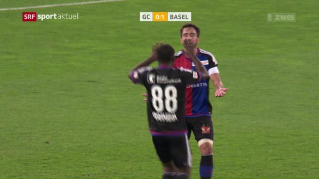 Video «GC-Negativtrend setzt sich gegen Basel fort» abspielen