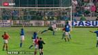 Video ««Retro» mit Beni und dem grossen Sieg der Nati gegen Italien» abspielen