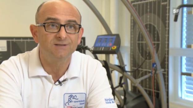 Video «Kauftipps vom Sportarzt Dr. Matteo Rossetto» abspielen
