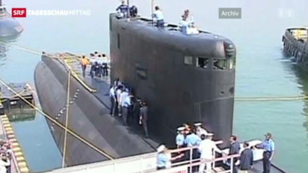 Video «Zahlreiche Tote nach U-Boot-Brand» abspielen