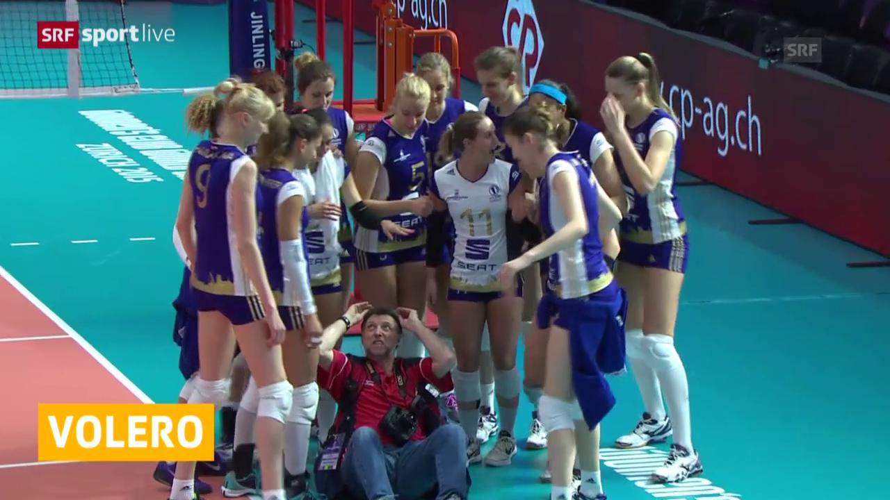 Volleyball: Klub-WM, Volero Zürich - Santo Domingo