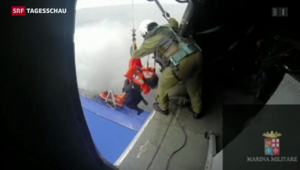 Adria-Rettung unter äusserst schwierigen Bedingungen