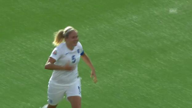 Video «Fussball: Frauen-WM 2015 in Kanada, Achtelfinal, Norwegen - England» abspielen