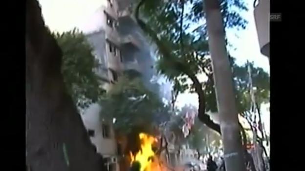 Video «Explosion in Hochhaus» abspielen