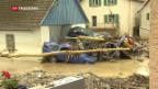 Video «Schlimme Unwetter in Süddeutschland» abspielen