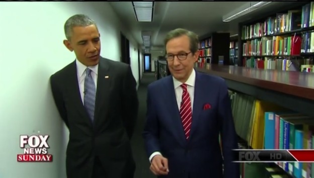 Video «Obama im Interview bei Fox News» abspielen