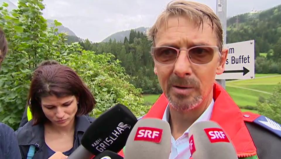 Daniel Zinsli, Mediensprecher Kantonspolizei Graubünden
