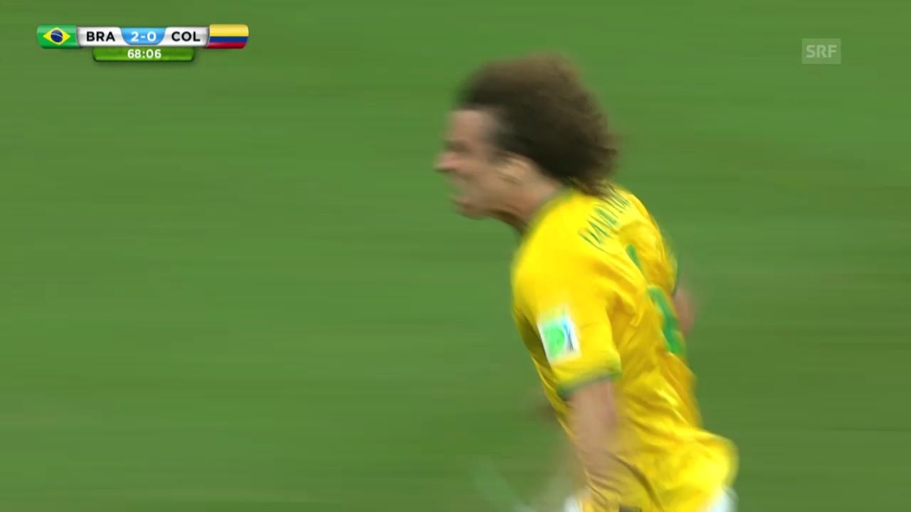 Das Tor von David Luiz