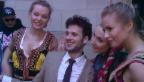 Video «Flirtender Sänger: Sebalter in Kopenhagen» abspielen