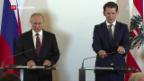 Video «Vladimir Putin zu Besuch in Österreich» abspielen