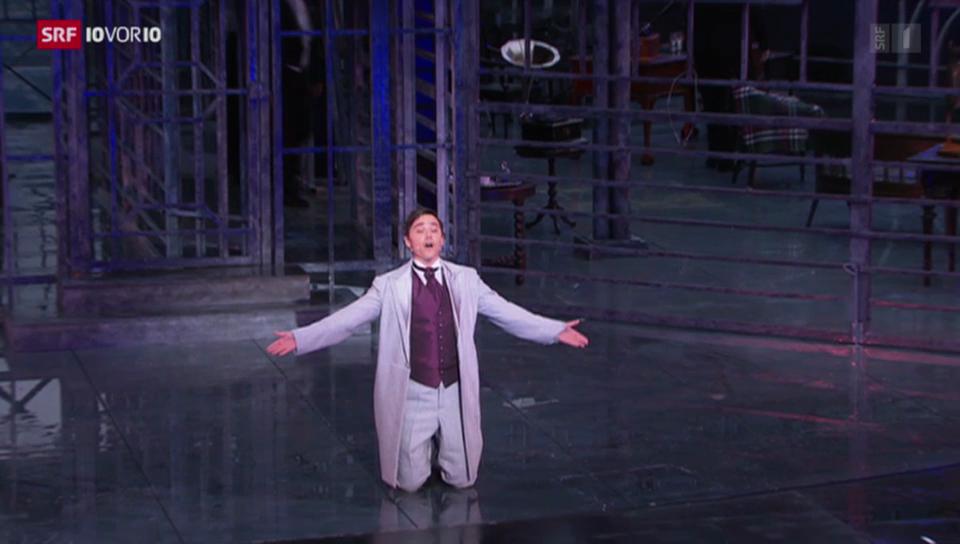 Musicaldarsteller Patric Scott: Erst Geissenpeter, dann die Welt