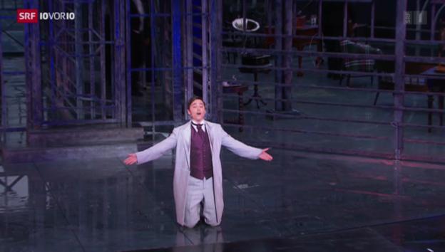 Video «Musicaldarsteller Patric Scott: Erst Geissenpeter, dann die Welt» abspielen