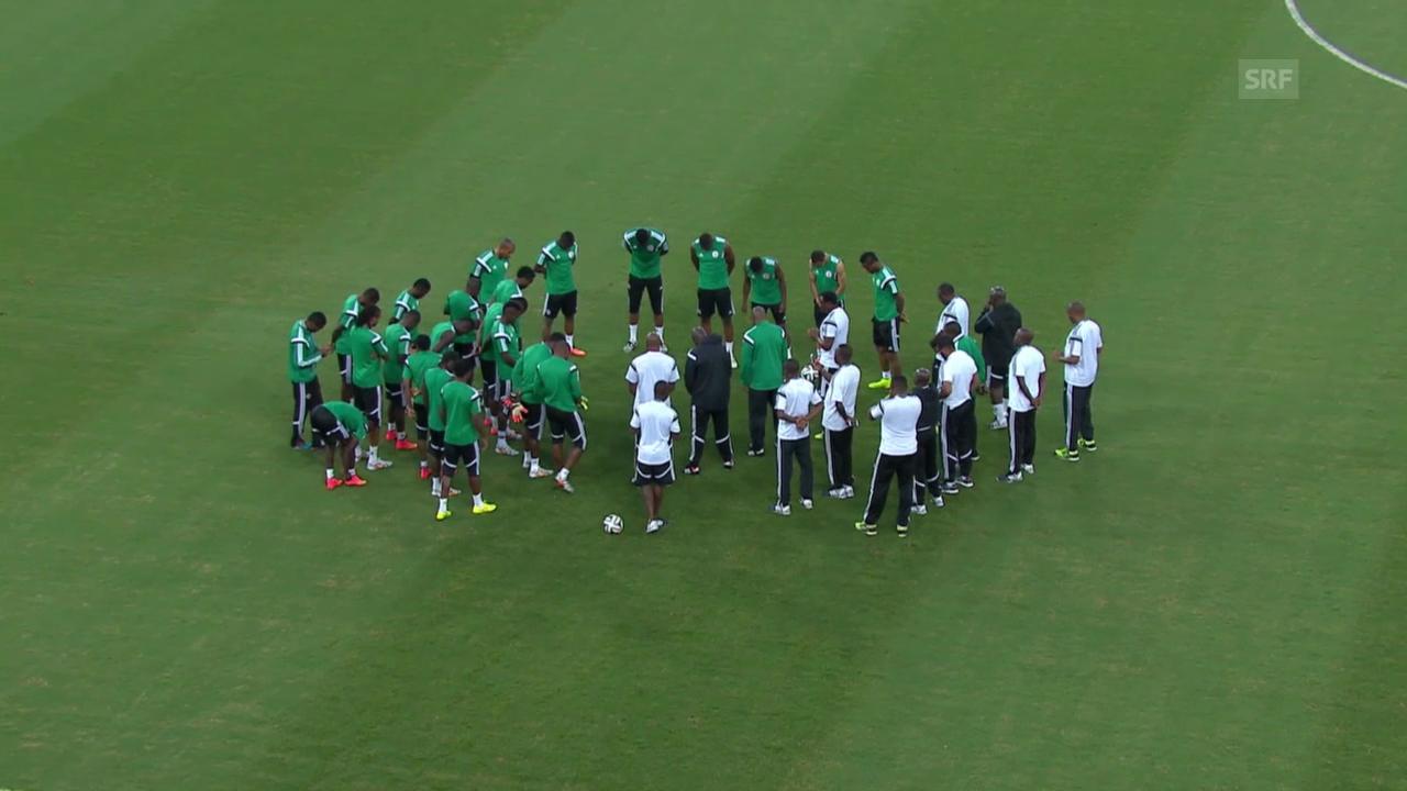Fussball: WM, Vorschau Nigeria-Bosnien-Herzegowina