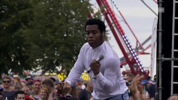 Video «Vintage Trouble - «Run Like The River»» abspielen