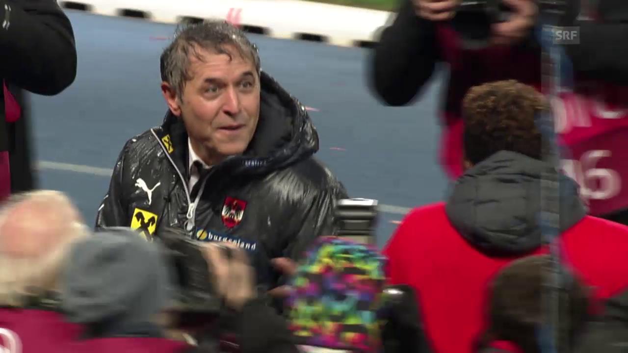Fussball: EM-Qualifikation, Österreich feiert Marcel Koller