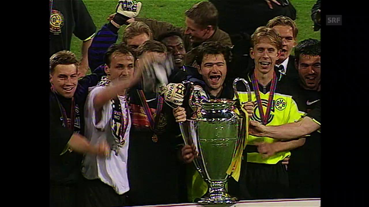 Die drei Schweizer CL-Sieger