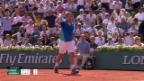 Video «Wawrinka ringt Murray nieder und steht im Paris-Final» abspielen