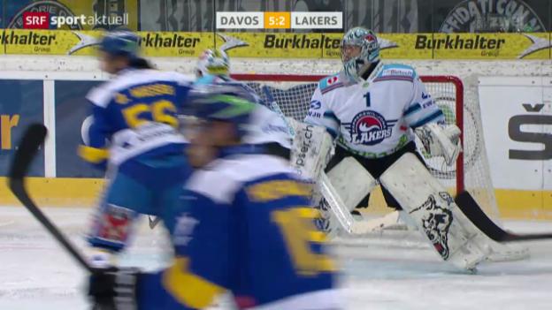Video «Eishockey: NLA, Davos - Lakers» abspielen