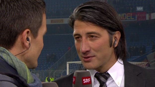 Video «Fussball: Super League, Basel - Zürich, Interview Yakin» abspielen