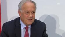 Video «Schneider-Ammann spricht von einem neuen Kundenbedürfnis» abspielen