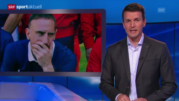 Video «Fussball: WM ohne Franck Ribéry» abspielen