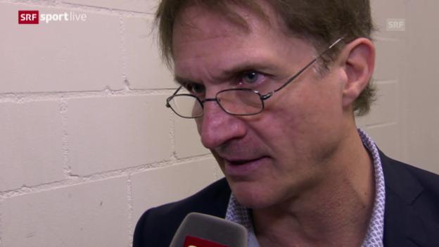 Video «Arno del Curto nach der Pleite gegen Frölunda: «Da gibt es kein Wenn und kein Aber»» abspielen