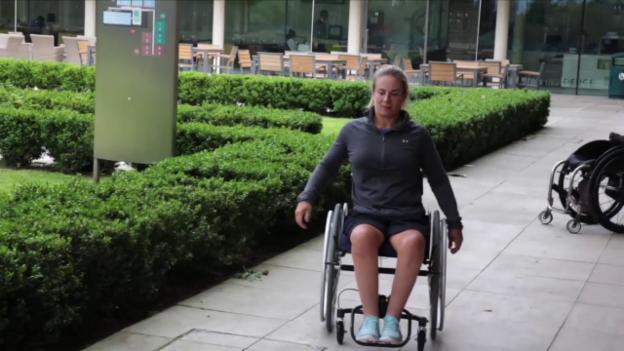 Video «Was kann der neuartige Handrollstuhl?» abspielen
