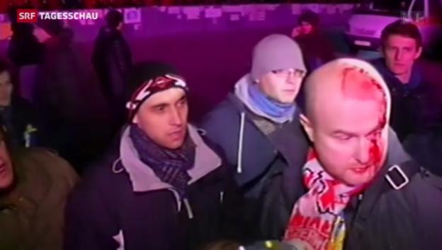Video «Aufruhr bei der ukrainischen Opposition» abspielen