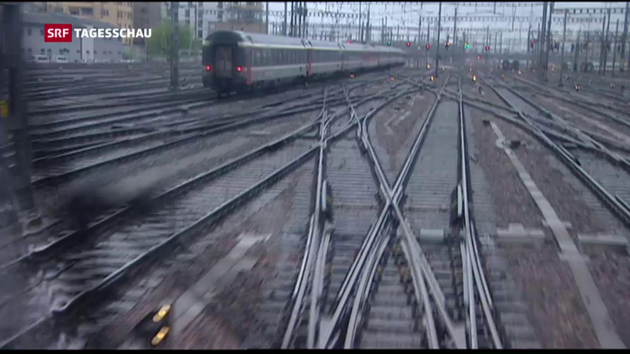 Milliarden für Unterhalt der Schienen