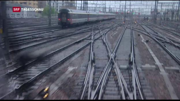 Video «Milliarden für Unterhalt der Schienen» abspielen