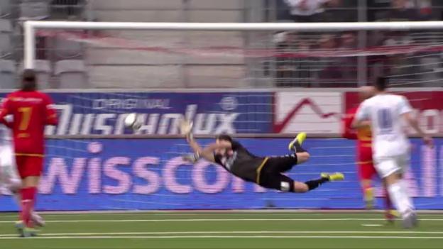 Video «SL: Thun - FC Zürich» abspielen