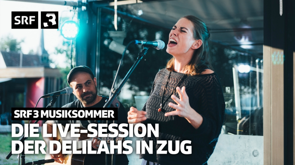 Die komplette Live-Session der Delilahs in Zug