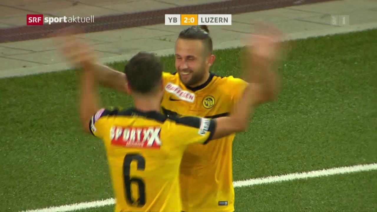 YB gewinnt Verfolgerduell gegen Luzern