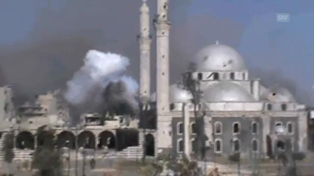 Tote, Verletzte und Zerstoerung in Syrien (unkomm.)