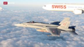 Video «Der neue Swiss-Flieger im Check» abspielen