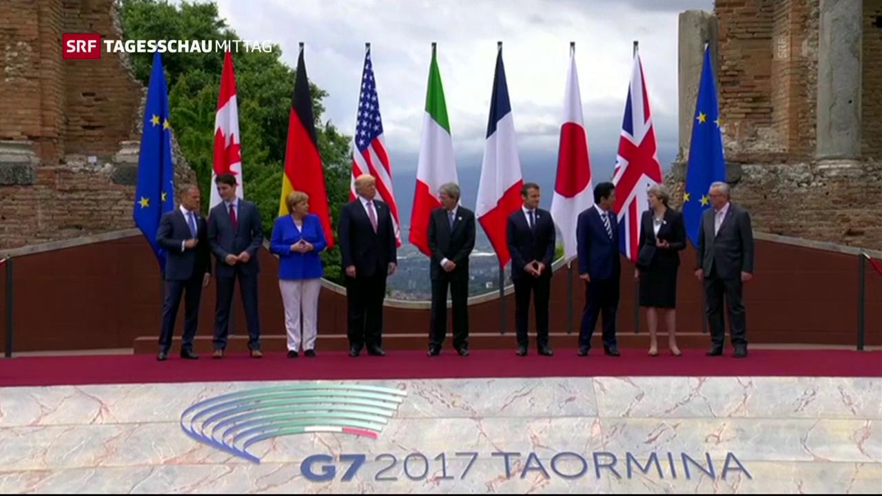 Trump am G7-Gipfel