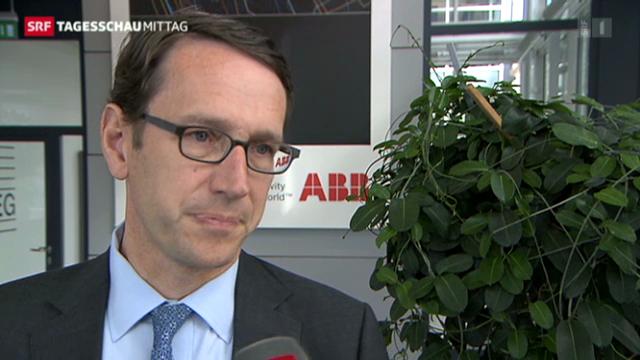 ABB-Finanzchef nimmt Stellung